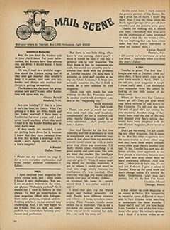 <cite>TeenSet</cite> (June 1967), Mail Scene, Page 24