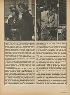 <cite>TeenSet</cite> (June 1967), Monkee See, Monkee Sing (Well, Sort Of), Page 47