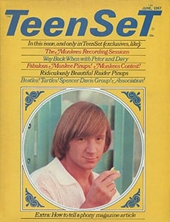 <cite>TeenSet</cite> (June 1967) cover