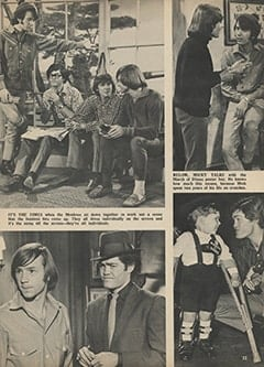 <cite>Tiger Beat</cite> (June 1967), I Visit with The Monkees (Part 7), Page 33