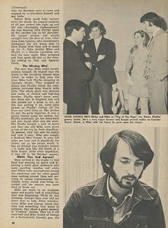 <cite>Tiger Beat</cite> (June 1967), Here's What Happened to Mike in London, Page 38
