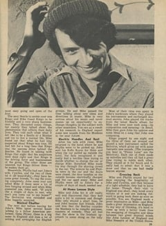 <cite>Tiger Beat</cite> (June 1967), Here's What Happened to Mike in London, Page 39
