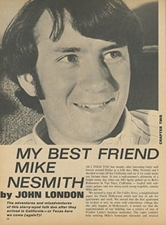 <cite>16</cite> (July 1967), My Best Friend Mike Nesmith, Page 22