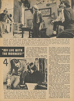 <cite>Flip</cite> (July 1967), My Life with The Monkees, Page 22