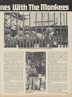 <cite>Hullabaloo</cite> (July-August 1967), Trouble Behind the Scenes with The Monkees, Page 19