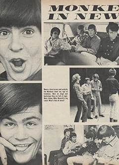 <cite>Hullabaloo</cite> (July-August 1967), Monkees in New York, Page 40