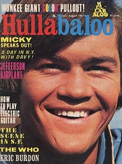 <cite>Hullabaloo</cite> (July 1967) cover