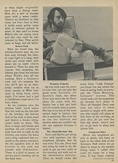 <cite>Monkee Spectacular</cite> (July 1967), Inside Mike&rsquo;s House, Page 23