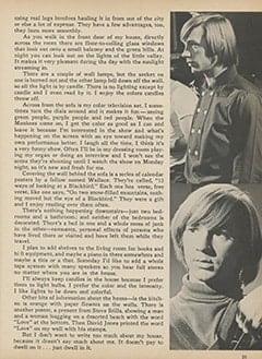 <cite>Monkee Spectacular</cite> (July 1967), How Peter Lives, Page 25