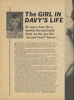 <cite>Teen Life</cite> (July 1967), The Girl in Davy&rsquo;s Life, Page 10