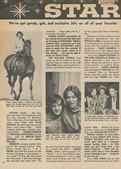 <cite>Teen World</cite> (July 1967), Star Light&hellip; Star Bright, Page 10