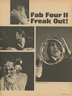 <cite>TeenSet</cite> (July 1967), Fab Four II Freak Out, Page 45