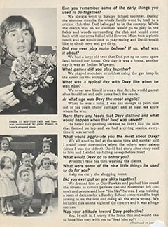 <cite>Tiger Beat</cite> (July 1967), Davy by His Oldest Sister Hazel, Page 02
