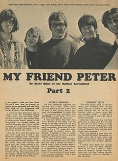 <cite>Tiger Beat</cite> (July 1967), My Friend Peter, Page 10
