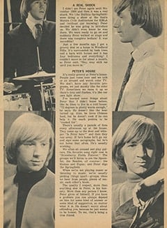 <cite>Tiger Beat</cite> (July 1967), My Friend Peter, Page 11