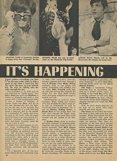 <cite>Tiger Beat</cite> (July 1967), It's Happening in Hollywood, Page 12