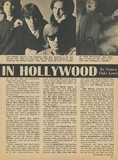 <cite>Tiger Beat</cite> (July 1967), It's Happening in Hollywood, Page 13