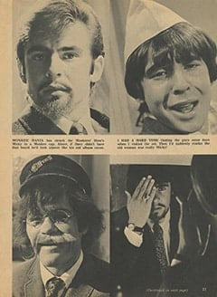 <cite>Tiger Beat</cite> (July 1967), I Visit with The Monkees (Part 8), Page 23