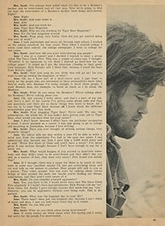 <cite>Tiger Beat</cite> (July 1967), Micky's Mother Interviews Ann Moses, Page 49
