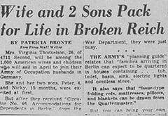 Wife and 2 Sons Pack for Life in Broken Reich