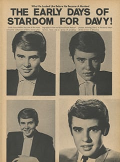 <cite>Flip</cite> (August 1967), The Early Days of Stardom for Davy, Page 59