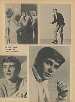 <cite>Flip</cite> (August 1967), The Early Days of Stardom for Davy, Page 60