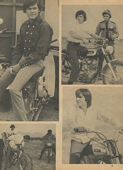 <cite>Monkee Spectacular</cite> (August 1967), Davy and Micky on Wheels, Page 15