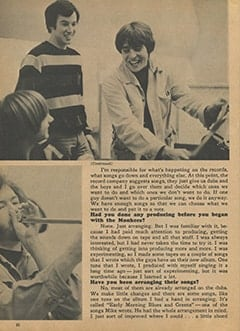 <cite>Monkee Spectacular</cite> (August 1967), C&rsquo;mon Along to a Recording Session, Page 30