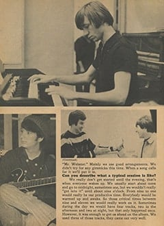 <cite>Monkee Spectacular</cite> (August 1967), C&rsquo;mon Along to a Recording Session, Page 32