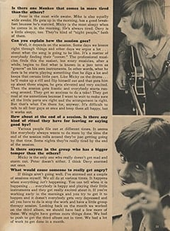 <cite>Monkee Spectacular</cite> (August 1967), C&rsquo;mon Along to a Recording Session, Page 33