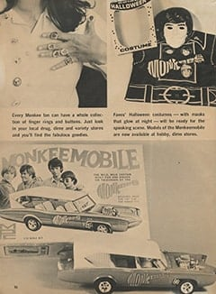 <cite>Monkee Spectacular</cite> (August 1967), Monkee Goodies, Page 36