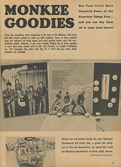<cite>Monkee Spectacular</cite> (August 1967), Monkee Goodies, Page 37