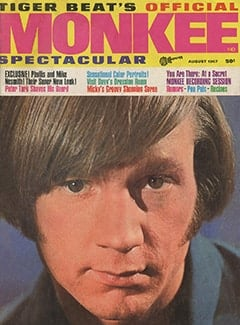 <cite>Monkee Spectacular</cite> (August 1967) cover