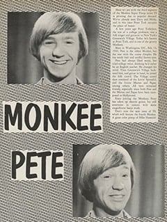 <cite>Teen Screen</cite> (August 1967), Monkee Pete, Page 36