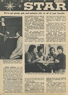<cite>Teen World</cite> (August 1967), Star Light… Star Bright, Page 12
