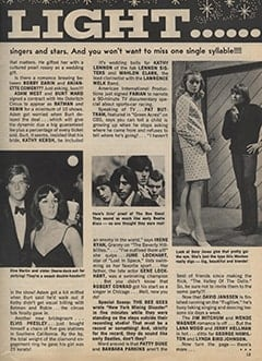 <cite>Teen World</cite> (August 1967), Star Light… Star Bright, Page 13
