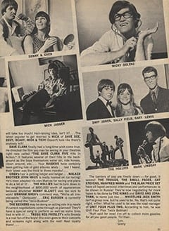 <cite>Teen World</cite> (August 1967), Group Gossip You Won&rsquo;t Believe, Page 21