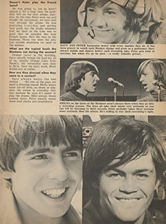 <cite>Tiger Beat</cite> (August 1967), Sound-Off on The Monkees, Page 49