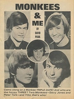 <cite>16</cite> (September 1967), Monkees &amp; Me, Page 08