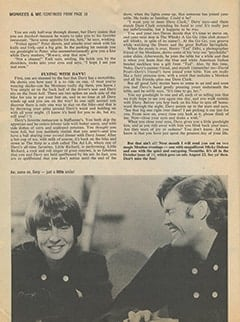 <cite>16</cite> (September 1967), Monkees &amp; Me, Page 20