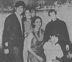 John London, Jim Messinger, Carolee Graham, Bill Chadwick, Mike Nesmith