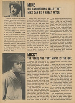 <cite>Fave</cite> (September 1967), The Hidden Side of Micky and Mike, Page 24