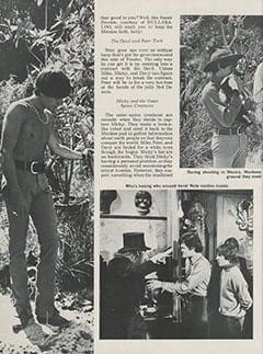 <cite>Hullabaloo</cite> (September 1967), Top Secret: Sneak Prevue of The Monkees&rsquo; Ten Best TV Romps for the Coming Season, Page 22