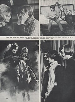 <cite>Hullabaloo</cite> (September 1967), Top Secret: Sneak Prevue of The Monkees&rsquo; Ten Best TV Romps for the Coming Season, Page 24