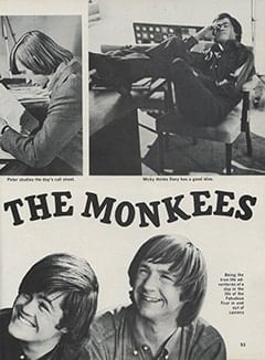 <cite>Hullabaloo</cite> (September 1967), Take 10 with The Monkees, Page 53