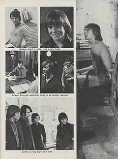 <cite>Hullabaloo</cite> (September 1967), Take 10 with The Monkees, Page 55