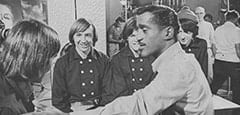 Davy Jones, Peter Tork, Micky Dolenz, Sammy Davis Jr., Mike Nesmith