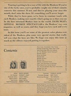 <cite>Monkee Spectacular</cite> (September 1967), Introduction, Page 03