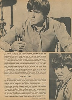 <cite>Monkee Spectacular</cite> (September 1967), Davy Jones: Everybody's Best Friend, Page 05