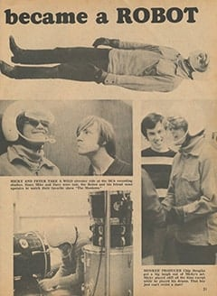 <cite>Monkee Spectacular</cite> (September 1967), The Night Micky Became a Robot, Page 21